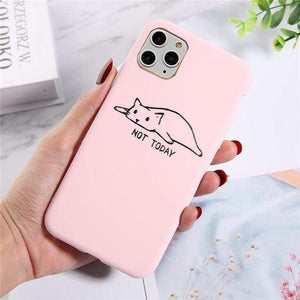 The KedStore For iPhone 11 Pro / 7710 Lovebay Silicone Phone Cases For iPhone 11 Pro SE 2020 X XR XS Max 8 7 6 6s Plus 5s | TheKedStore
