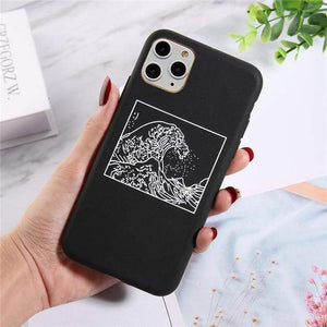 The KedStore For iPhone XS Max / 7705B Lovebay Silicone Phone Cases For iPhone 11 Pro SE 2020 X XR XS Max 8 7 6 6s Plus 5s | TheKedStore