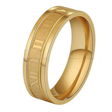 Load image into Gallery viewer, The KedStore Gold / 6 Numerals Ring