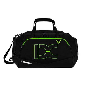 The KedStore Green stripe 40L Sports Bag Training Gym Bag