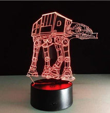 Load image into Gallery viewer, The KedStore I / Remote Touch Switch Star Wars 3D USB LED Lamp Death Star lava Night Lamp