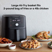 Load image into Gallery viewer, The KedStore Instant Vortex Air Fryer 4 in 1, Best Fries Ever, Roast, Bake, Reheat, 6 Qt, 1700W
