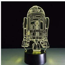 Load image into Gallery viewer, The KedStore K / Remote Touch Switch Star Wars 3D USB LED Lamp Death Star lava Night Lamp