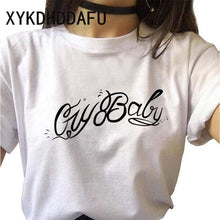 Load image into Gallery viewer, The KedStore Lil Peep Women T Shirt Hip Hop Funny Ulzzang Cry Baby T-shirt | TheKedStore
