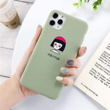 Load image into Gallery viewer, The KedStore Lovebay Silicone Phone Cases For iPhone 11 Pro SE 2020 X XR XS Max 8 7 6 6s Plus 5s | TheKedStore