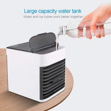 Load image into Gallery viewer, The KedStore Mini Air Conditioner Portable Air Cooler USB Personal Space Cooler Fan