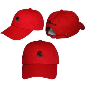 The KedStore red Embroidery Baseball Snapback Cap
