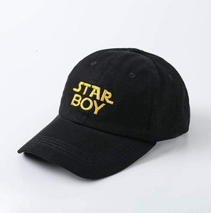 The KedStore STAR BOY Baseball Snapback Hip Hop Cap 100% Cotton The Weeknd Starboy and Stargirl Hat XO Dad Hat | TheKedStore