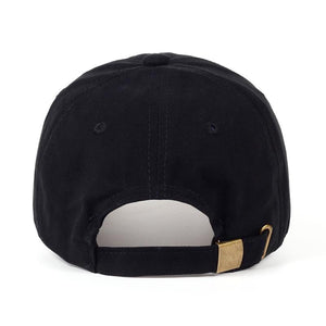 The KedStore VORON 2017 new Panda Gold Chains Baseball Cap Curved Bill Dad Hat men women 100% Cotton golf snapback cap hats wholesale retail
