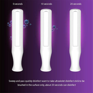 The KedStore White Handheld UV Light Disinfection Lamp