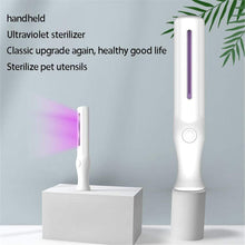Load image into Gallery viewer, The KedStore White Handheld UV Light Disinfection Lamp