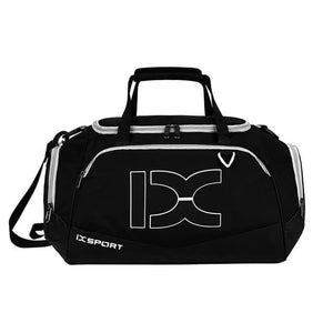 The KedStore White stripe 40L Sports Bag Training Gym Bag