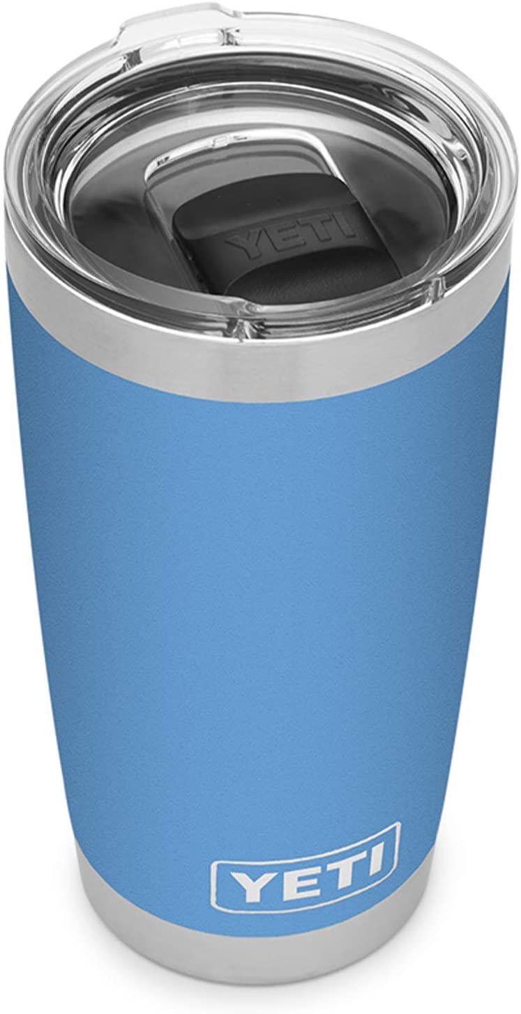 The KedStore YETI Rambler 20 oz Tumbler, Stainless Steel, Vacuum Insulated with MagSlider Lid