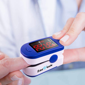The KedStore Zacurate Pro Series 500DL Fingertip Pulse Oximeter Blood Oxygen Saturation Monitor