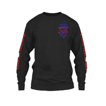 Load image into Gallery viewer, Black Long sleeve Flowers Started Dying Yesterday Aime Aimetothe