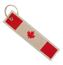 Load image into Gallery viewer, Canada flag Key tag