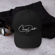 Load image into Gallery viewer, Chevy Dude Autograph Dad hat