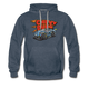 Chevy Dude Racer Hoodie - heather denim