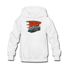 Load image into Gallery viewer, Chevy Dude Racer Kids hoodie - white
