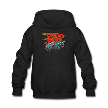 Load image into Gallery viewer, Chevy Dude Racer Kids hoodie - black