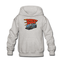 Load image into Gallery viewer, Chevy Dude Racer Kids hoodie - heather gray