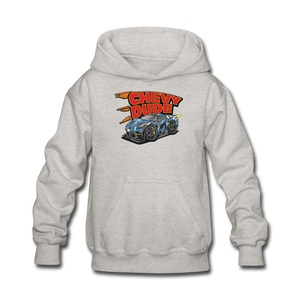 Chevy Dude Racer Kids hoodie - heather gray