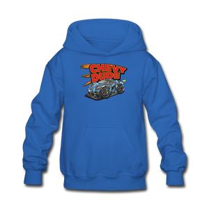 Chevy Dude Racer Kids hoodie - royal blue