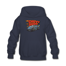 Load image into Gallery viewer, Chevy Dude Racer Kids hoodie - navy