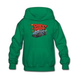 Chevy Dude Racer Kids hoodie - kelly green