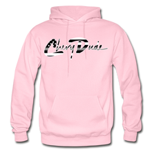 Load image into Gallery viewer, Chevy Dude thin Gray Line Autograph Adult Hoodie - light pink