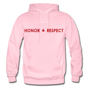 THIN RED LINE FLAG - Men's Hoodie - light pink
