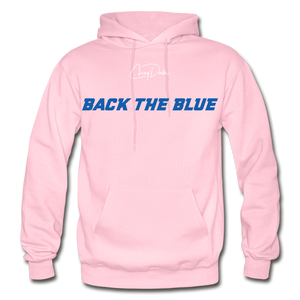 BACK THE BLUE - Men's Hoodie - light pink