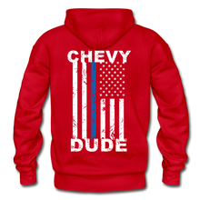 Load image into Gallery viewer, BACK THE BLUE - Men's Hoodie - red