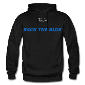 BACK THE BLUE - Men's Hoodie - black