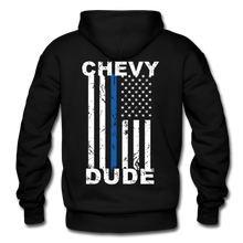 Load image into Gallery viewer, BACK THE BLUE - Men's Hoodie - black