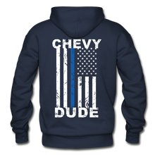 Load image into Gallery viewer, BACK THE BLUE - Men's Hoodie - navy