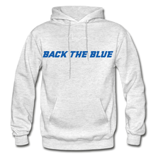 Load image into Gallery viewer, BACK THE BLUE - Men's Hoodie - light heather gray