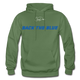 BACK THE BLUE - Men's Hoodie - military green