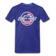 Chevy Dude Bow Tie Premium Tee - royal blue