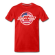Chevy Dude Bow Tie Premium Tee - red