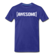 Awesome Tee - royal blue