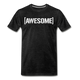 Awesome Tee - charcoal gray