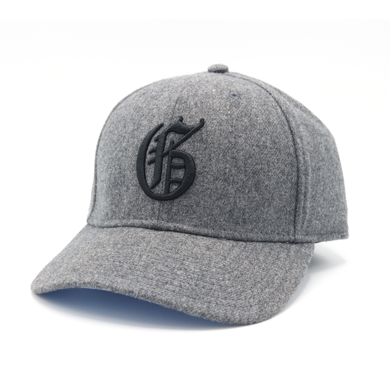 Grey flannel g hat
