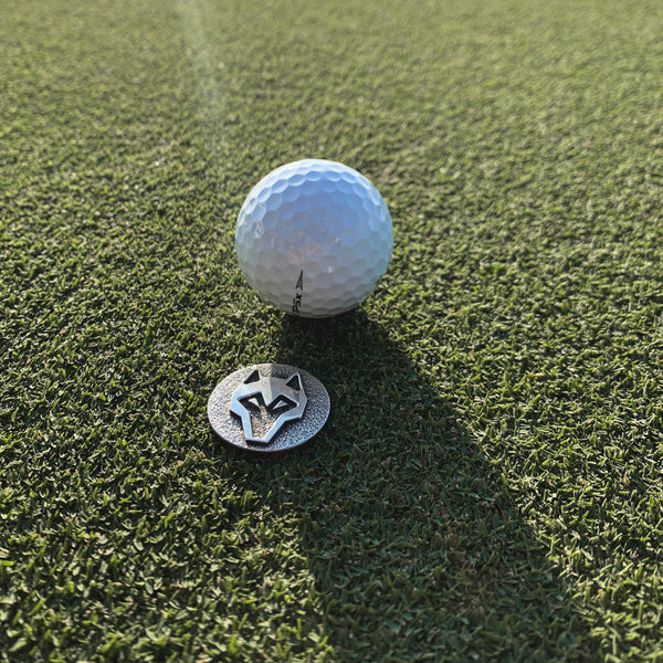 Silver Icon Ball Marker