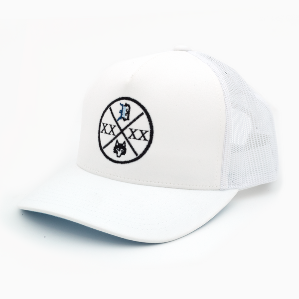 Crossed Up Trucker Hat