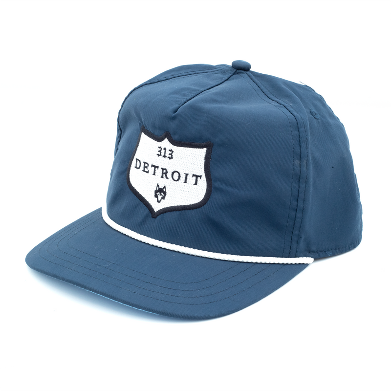 313 Detroit Label Rope Hat