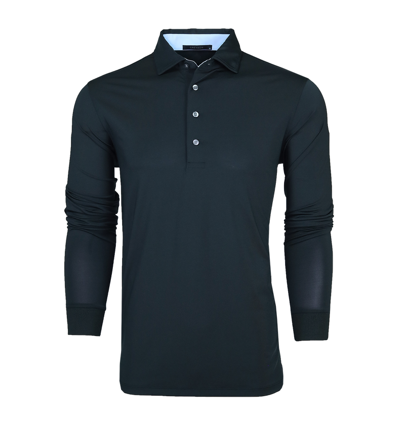 Kaya Long Sleeve Polo