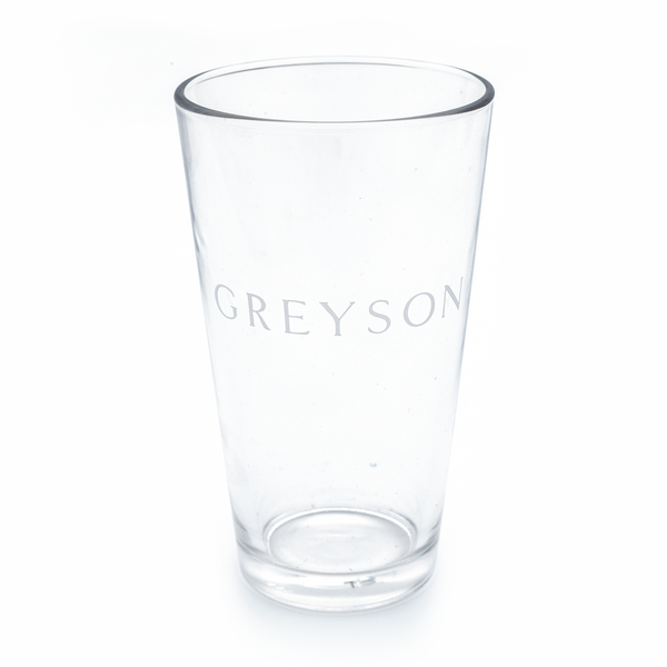 Greyson Text Pint Glass