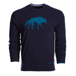 Stalking Wolf Crewneck Sweater