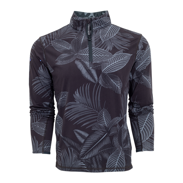 Jungle Wolf Printed Tate Quarter-Zip